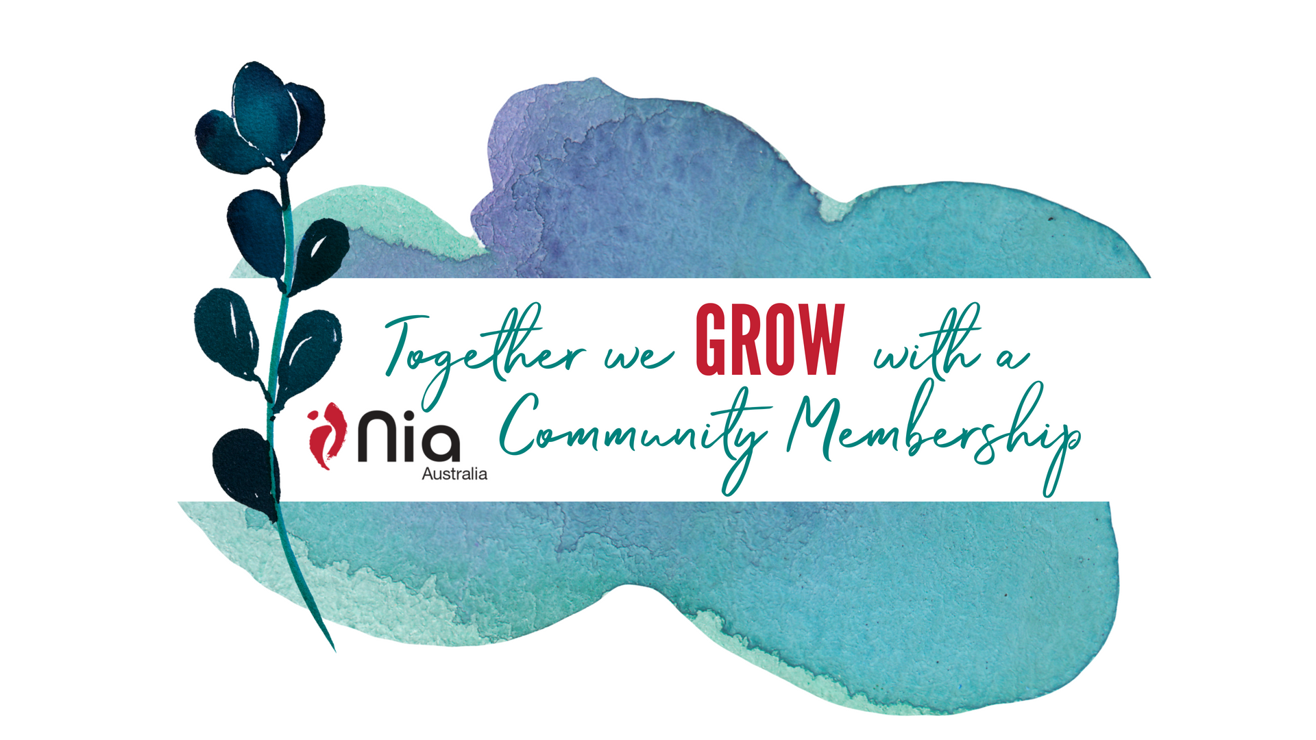Together we grow with a Nia Community Membership